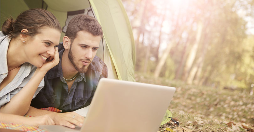 Roliga berättelser med online-datering
